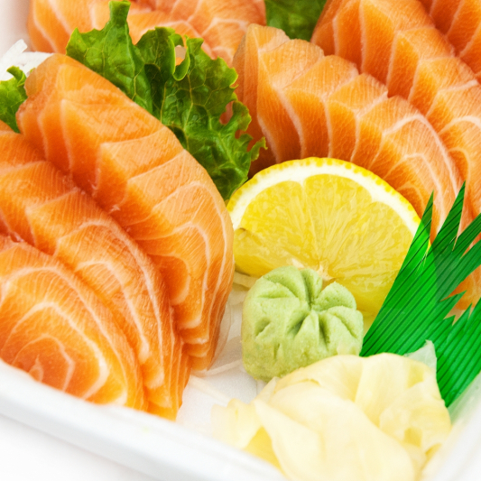 Salmon Sashimi (7pc)
