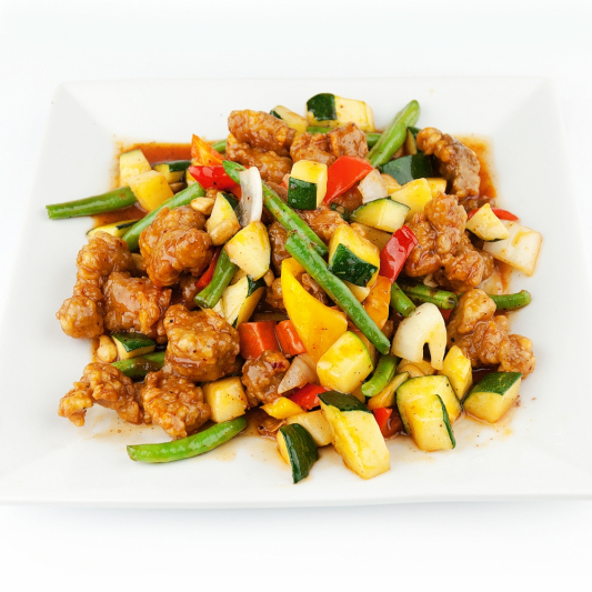 116. Kung Pao Chicken or Beef with Peanuts