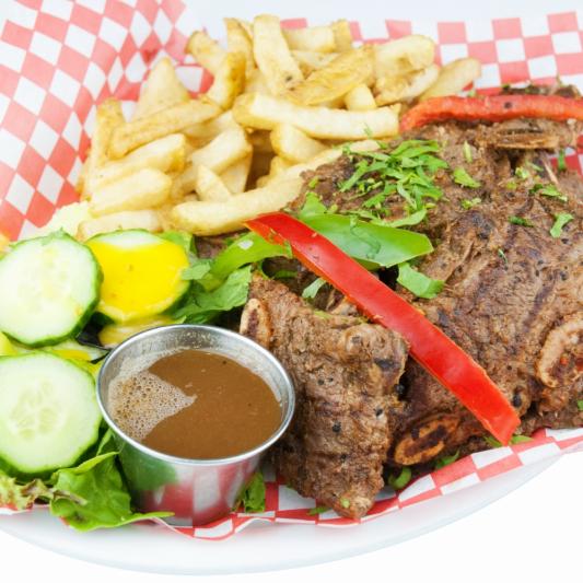 117. Pork Ribs In Brown Sauce/Soy Sauce Chop
