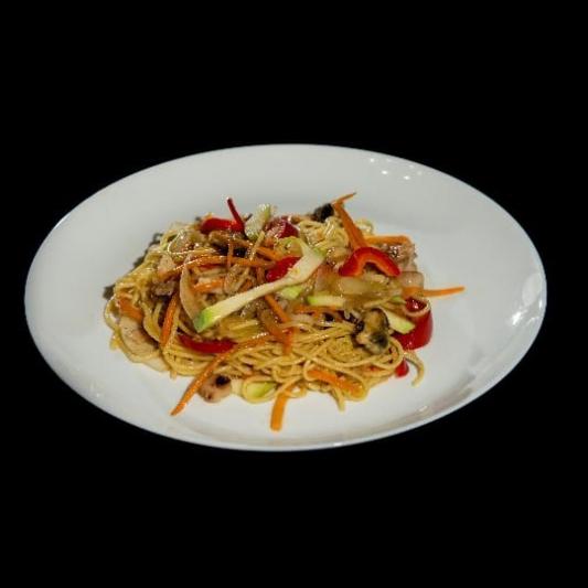 151. Shrimp Noodles