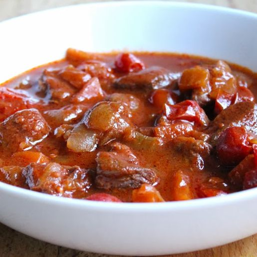 Beef with Tomatoes