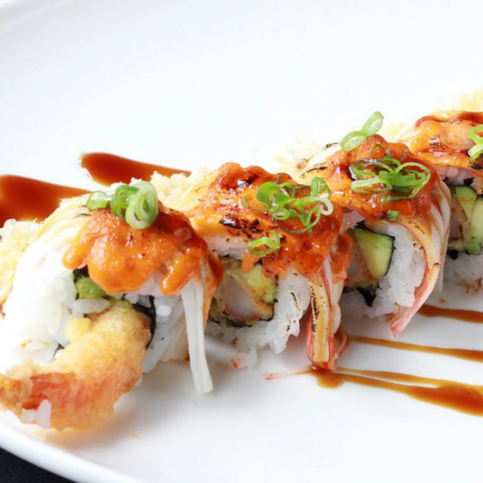 134. Shrimp Paradise Roll