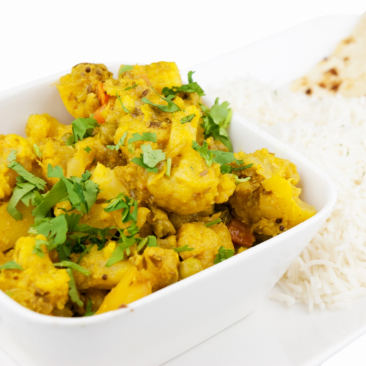 Aloo, Gobi, Mutter Curry*