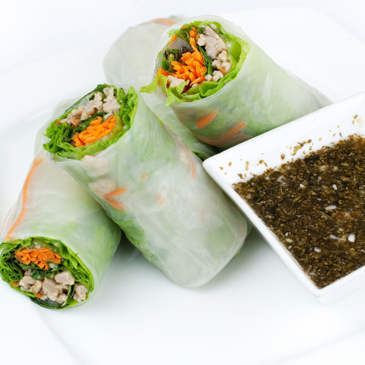 10. Fresh Spring Roll (4 pcs)