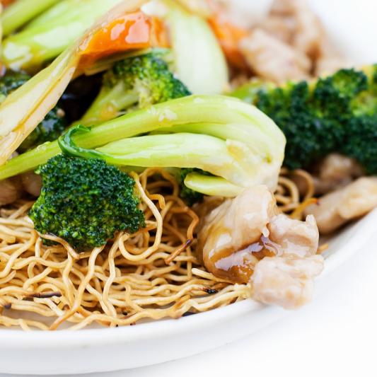 S13. Crispy Cantonese-Style Egg Noodles