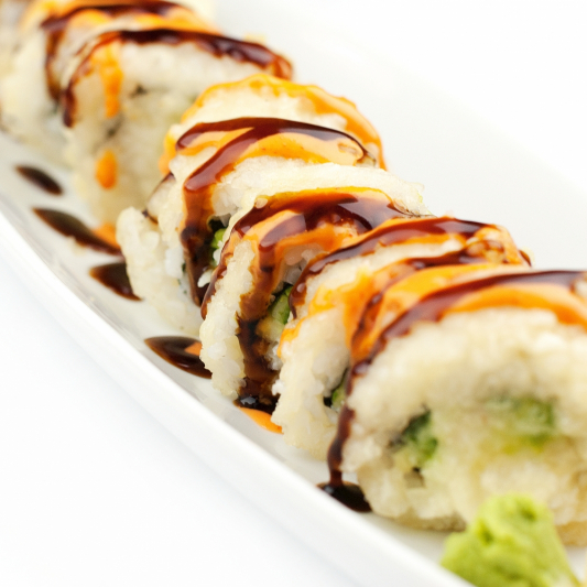 87. Deep-Fried California Roll