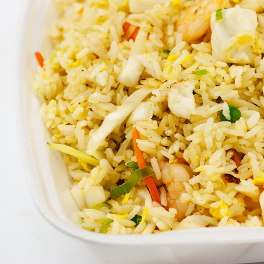 74. Seafood Fried Rice