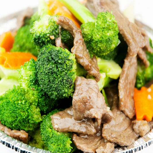 Sliced Pork with Broccoli