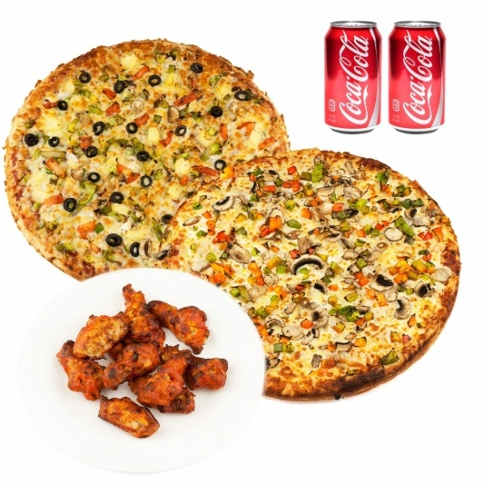 Wings & Pizza Deal