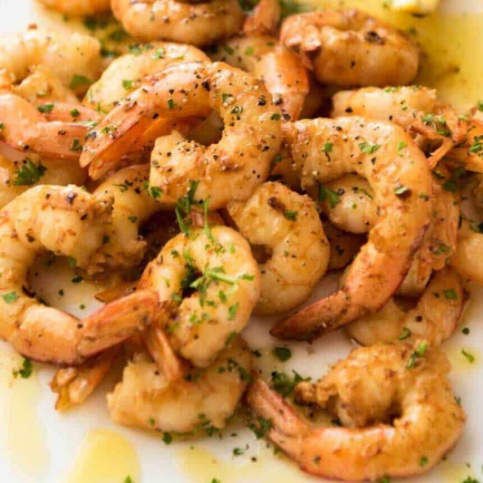 43. Shrimp with Salt and Pepper