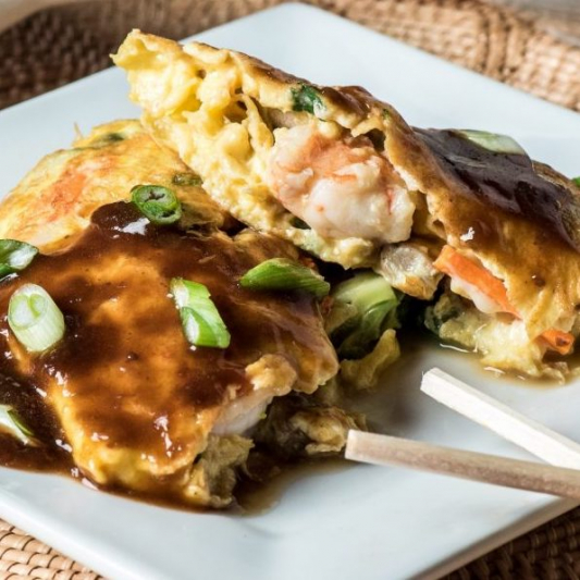 24. House Special Egg Foo Young