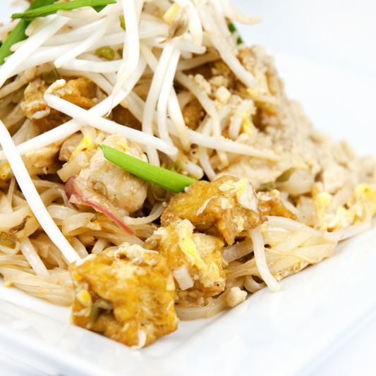 154. Chicken or Beef Pad Thai