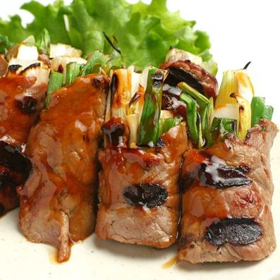 22. Green Onion Beef Roll (6pcs)