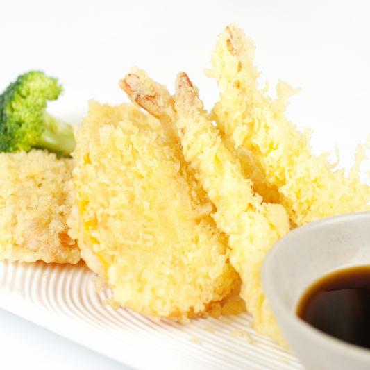 Prawn and Yam Tempura (6 pcs)