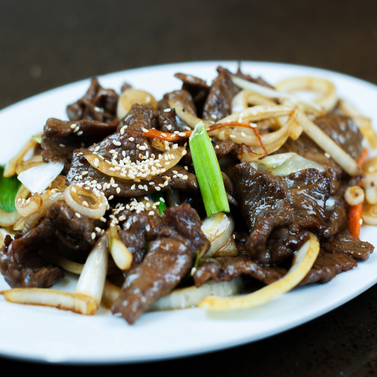 49. Beef with Ginger & Green Onion