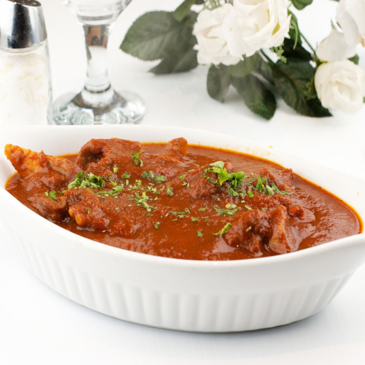 32. Lamb or Beef or Goat (bone-in) Curry