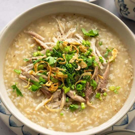 25. Preserved Egg and Pork Congee