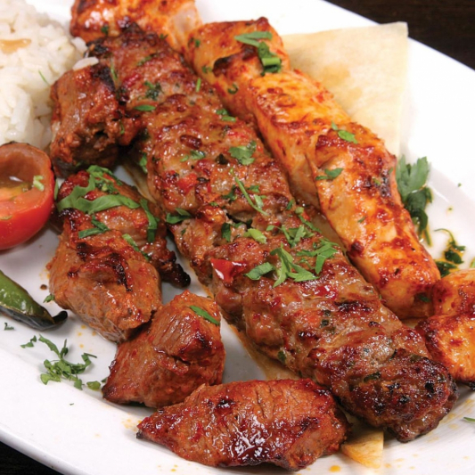 Sheesh Kabab (Lamb/Beef/Chicken)