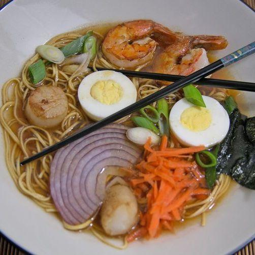M2. Seafood Ramen