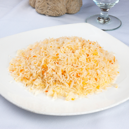 Steamed Basmati Rice (Side Portion)