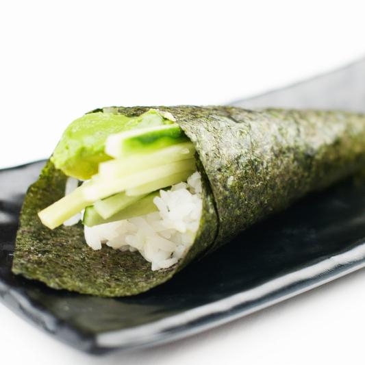 Cucumber & Avocado Cone