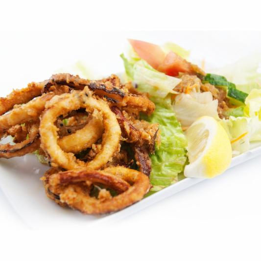Deep-Fried Squid (Ika Karaage)