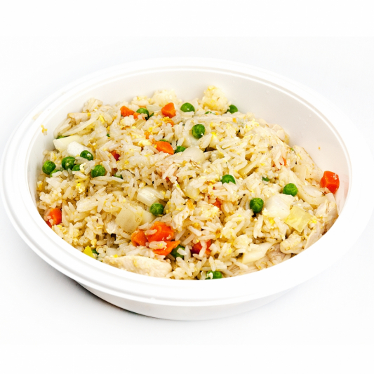 (47) Spam Meat with Hot Sauce Fried Rice
