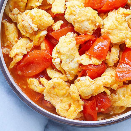 Scrambled Egg with Tomato 番茄炒鸡蛋