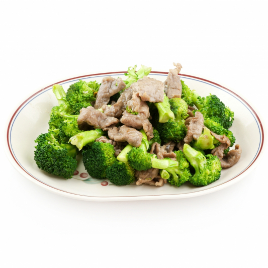 76. 百加利牛肉 Sliced Beef with Broccoli