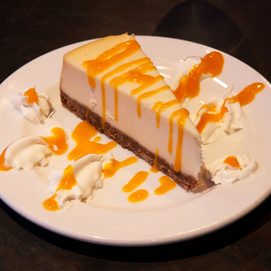Mango Berry Cheesecake