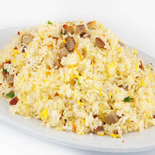 115. Diced BBQ Pork Fried Rice