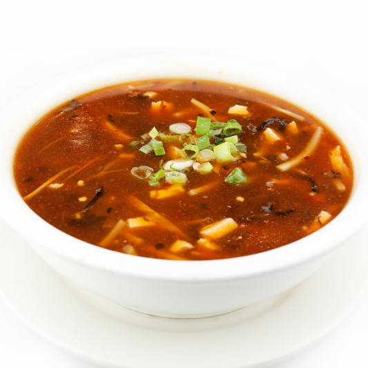10. Hot-and-Sour Soup (S)