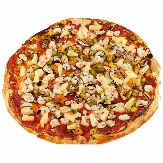 Ranch Shrimp Pizza