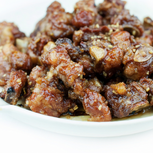 Honey Garlic Spareribs
