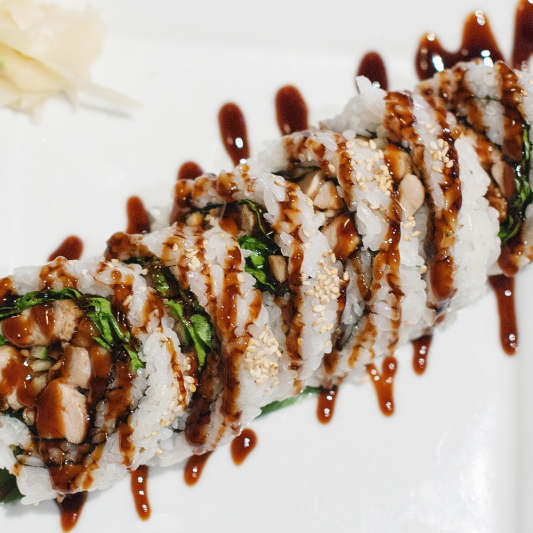 Spicy Chicken Teriyaki Roll