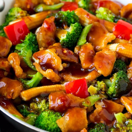 Chicken with Hunan Sauce 湖南雞