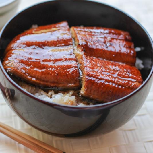 18. Unagi Don Grilled Eel Rice 级鱼饭