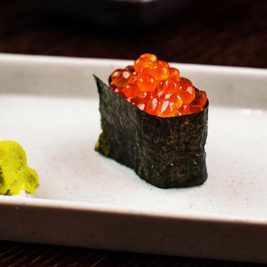 Ikura - Salmon Caviar Nigiri (1 pc)