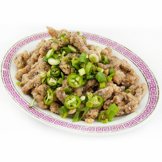 Sliced Beef with Green Pepper