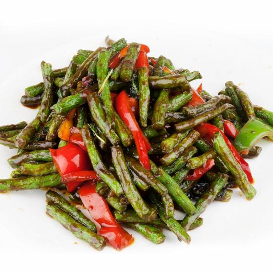 63. Green Bean (Prig Khing)