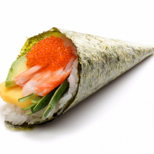 H3. Spicy California Hand Roll (1 pc)