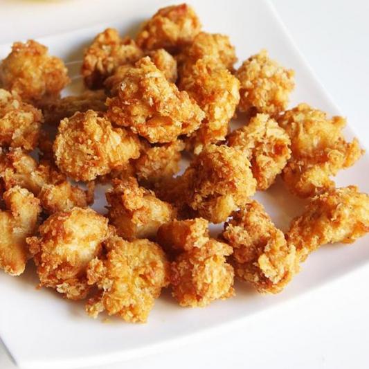 96. Deep-Fried Chicken Knee in Peppery Salt
