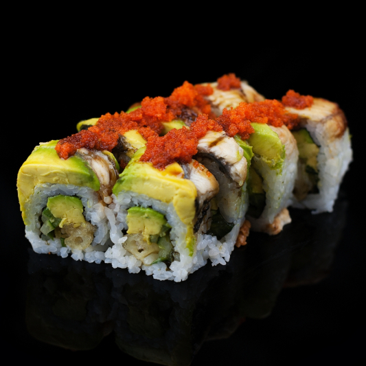 95. Jalapeno Dragon Roll (9 pcs)