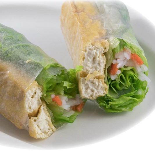 S3. Tofu Salad Rolls (4 pcs)