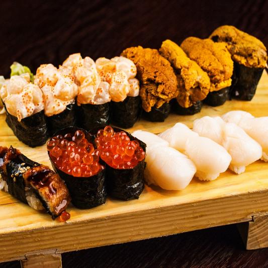 S5 Eglinton Ave Sushi Combo (21pcs)