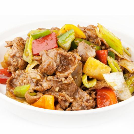 73. Sliced Beef with Satay Sauce