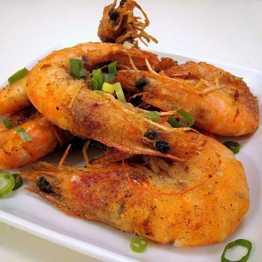 039. Salty Pepper Prawns