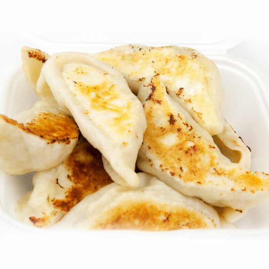 5-2 Pan Fried Beef Dumplings (10 pcs)