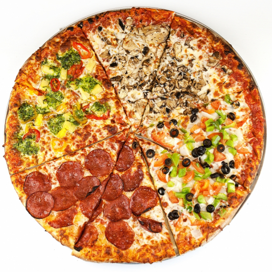 6 Toppings Pizza
