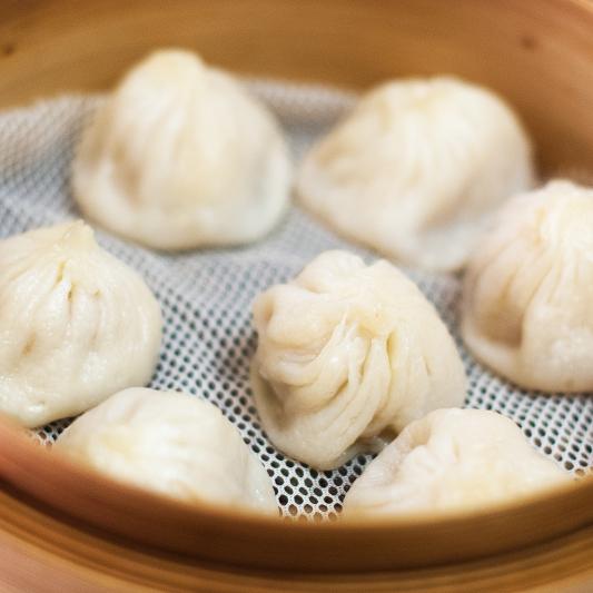 10. Steamed Scallops Dumplings (4) 帶子餃